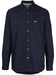 рубашка с заплаткой с логотипом Lacoste