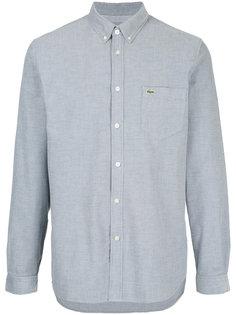 рубашка прямого кроя Lacoste