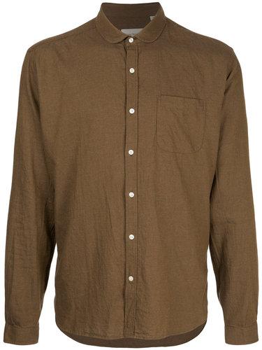 рубашка с итонским воротником Oliver Spencer
