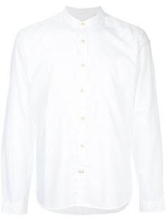 рубашка с воротником-стойкой Oliver Spencer