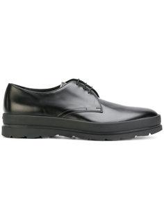 туфли Дерби на рифленой подошве Prada