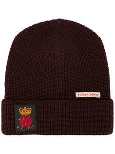 шапка с заплаткой Kent & Curwen