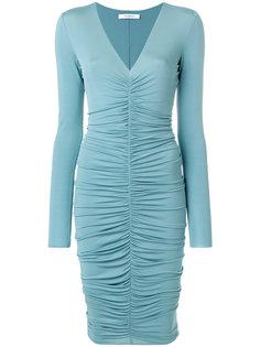 платье мини с оборками Max Mara