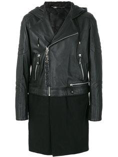 пальто с молниями Philipp Plein