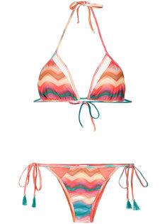 chevron print bikini set Brigitte