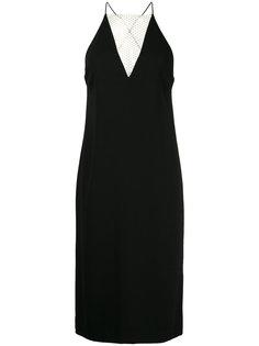 платье без застежки с кружевной вставкой Dion Lee