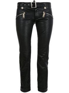 укороченные байкерские брюки Dsquared2
