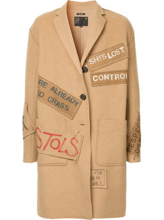 пальто с нашивками R13