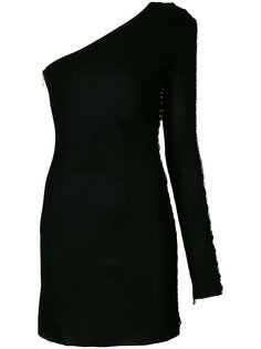 платье слим на одно плечо  Balmain