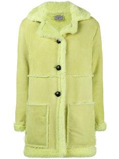 однобортное пальто из овечьей шерсти Ashley Williams