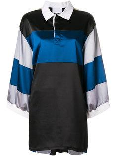 платье-поло в полоску Koche