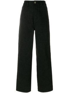 прямые джинсы с полосками  Koche