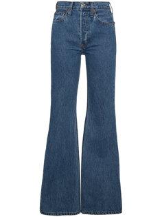 расклешенные джинсы с высокой талией Re/Done