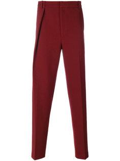 прямые брюки со складками  Martine Rose