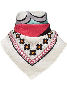 шарф с принтом логотипа Fendi