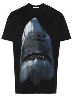 футболка свободного кроя с акулой Givenchy