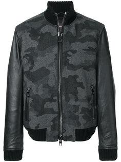 куртка-бомбер с камуфляжным принтом  Michael Kors