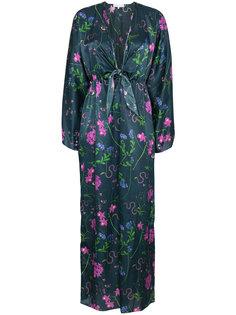 платье-кимоно Elsa с разрезами на рукавах Borgo De Nor
