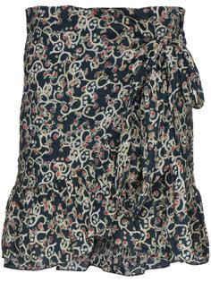 мини-юбка с запахом и цветочным принтом Isabel Marant Étoile