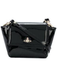 сумка через плечо с бляшкой-логотипом Vivienne Westwood
