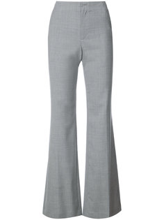 flared zip trousers Adeam