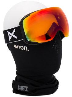 M2 polarised polar smoke ski goggles Anon