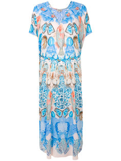 "удлиненный кафтан ""Quartz  Temperley London"