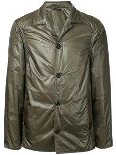 укороченное стеганое пальто Jil Sander