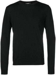 панельный свитер с молниями Dsquared2