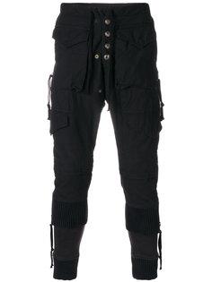 брюки с завышенной талией Greg Lauren