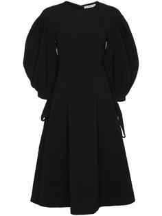 расклешенное платье с объемными рукавами Rejina Pyo