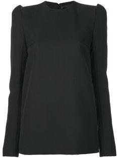 блузка со структурированными плечами Haider Ackermann