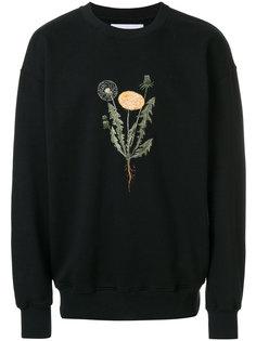 свитер с цветочным принтом  Han Kjøbenhavn