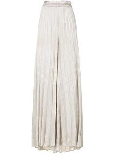 брюки-палаццо со складками  Gentry Portofino