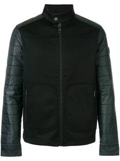 байкерская куртка с дутыми рукавами  Michael Kors
