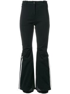 расклешенные брюки с полосками Fendi