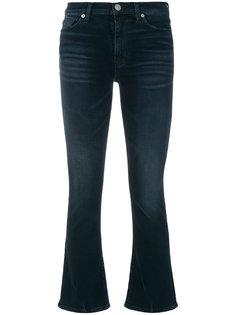 укороченные джинсы клеш Hudson