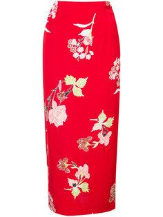 Everton print straight skirt Dvf Diane Von Furstenberg
