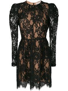 многослойное кружевное платье Michael Michael Kors