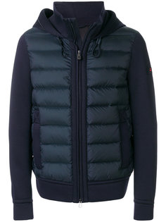 куртка с капюшоном и дутой вставкой  Peuterey