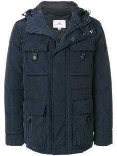 дутая куртка с капюшоном  Peuterey