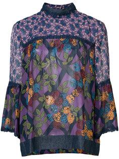 floral print blouse  Anna Sui