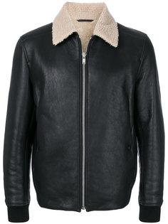 куртка с контрастным воротником Theory