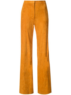long straight leg trousers Adam Lippes