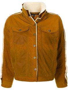 приталенная куртка на пуговицах #Mumofsix