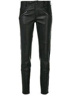 укороченные брюки с молниями  P.A.R.O.S.H.