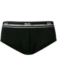 logo waistband briefs Dolce & Gabbana Underwear