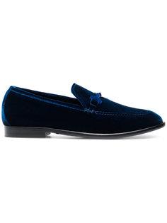 Marti velvet flat loafers Jimmy Choo