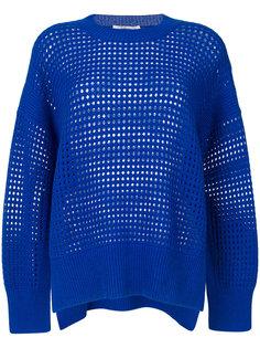 свитер ажурной вязки Agnona