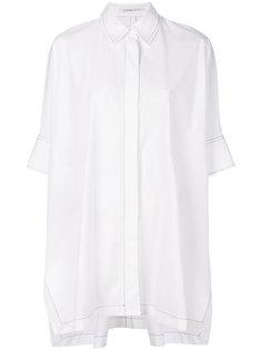 удлиненная рубашка оверсайз Agnona